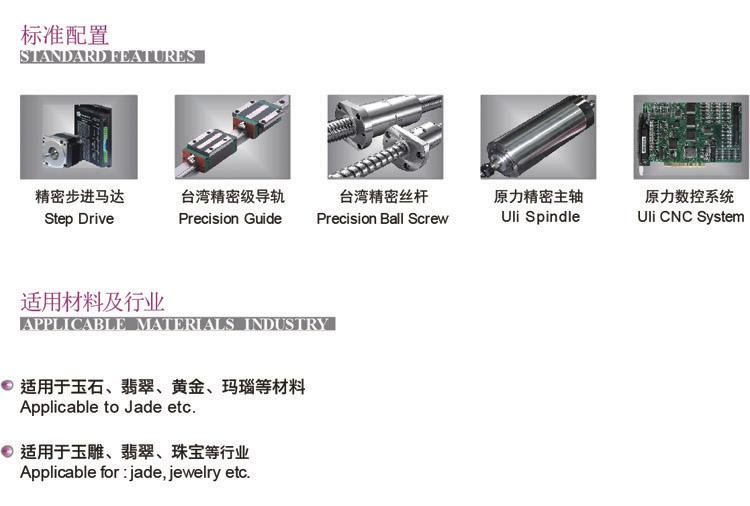 原力数控,产品标准配置